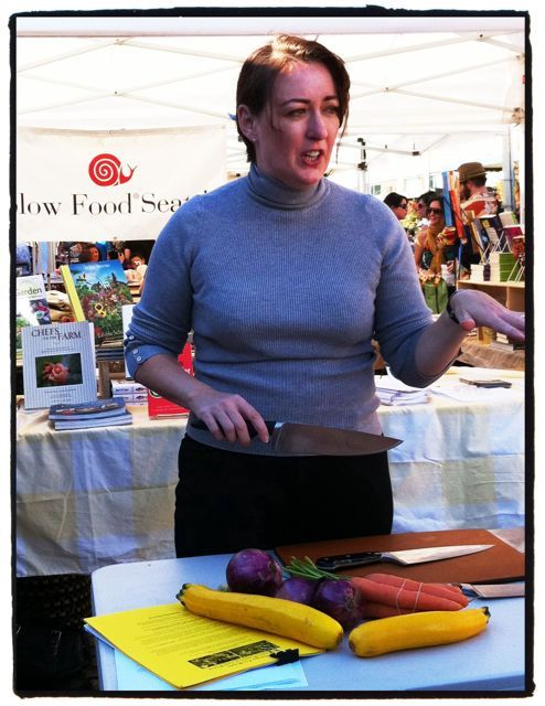 "Kathleen Flinn, author of ""the Sharper Your Knife the Less You Cry,"" talking about how to choose a knife that's right for you."