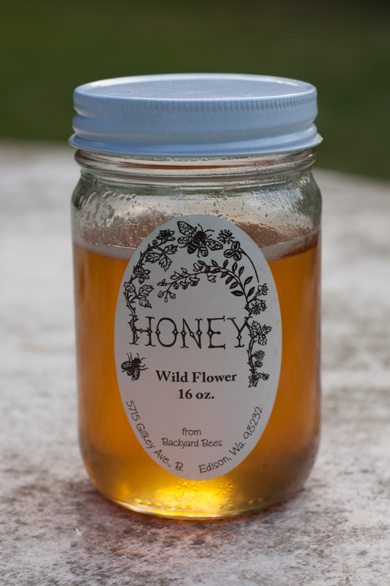 """Wildflower (Edison, WA): delicate, light (x2), sweet, plain, herbal, light texture, """"not a lot of character"""""""