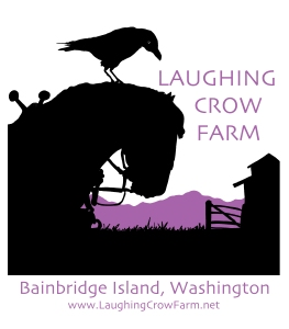 Laughing Crow Farm Logo